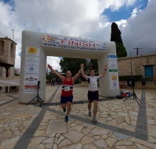 Cyprus Challenge 2017, Race registration, 11 km Hill Race, Coral Bay Hotel with Arena Sports.
